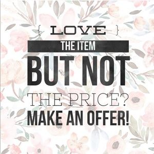 🛍REASONABLE OFFERS ACCEPTED🛍
